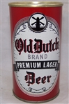 Old Dutch Premium Lager Beer, Early Ring Pull can