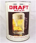 Draft Beer by National Gallon Beer Can