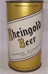Rheingold Small R Flat Top Beer Can