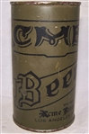 Acme Olive Drab Flat Top Beer Can
