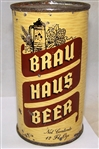 Brau Haus Opening Instruction Flat Top Beer Can