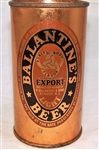 Ballantine (New Yorks World Fair 1939) Flat Top Beer Can.