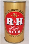 R&H Light Flat Top Beer Can