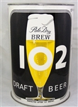"Brew 102 Gallon Beer Can ""Perfected after 101 Brews"""