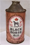 Black Horse Ale Cone Top Beer Can Canadian