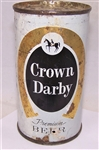Crown Darby Flat Top Beer Can