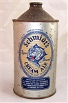 Schmidts Tiger Brand Cream Ale Quart Cone Top Beer Can