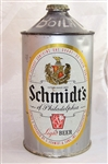 Schmidts of Philadelphia Quart Cone Top Beer Can