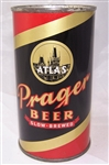 Atlas Prager Opening Instruction Flat Top Beer Can
