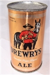 Drewrys Ale Opening Instruction Flat Top Can.....WOW!!