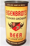 Eigenbrots Modern Growler Opening Instruction Flat Top Beer can
