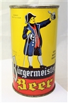 Burgermeister-Rare Variation!! Opening Instruction Beer Can