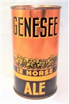 Genesee 12 Horse Ale Opening Instruction Beer Can NON-IRTP