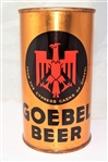 Goebel (German Eagle) Opening Instruction Flat Top Beer Can
