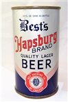 Bests Hapsburg Brand Opening Instruction Beer Can