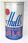 Hulls Cream Ale Opening Instruction Flat Top Beer Can