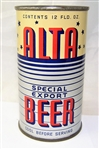 Alta Special Export Opening Instruction Flat Top Holy Cow!!
