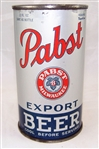 Pabst Export Opening Instruction Flat Top Beer Can