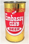 Embassy Club Flat Top Beer Can (Chicago)