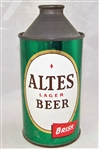 Altes Lager Brisk Cone Top Beer Can