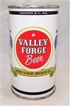 Valley Forge..Unlisted Flat Top Test Beer Can. (Bank Top)