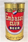 Embassy Club I.R.T.P Flat Top Beer Can (Chicago)