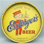 Good Old Esslingers Beer tray with waiter, Philadelphia