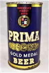 Prima Gold Medal Opening Instruction Flat Top Beer Can (Manhattan)