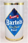 Bartels Extra Light Fan Tab Beer can