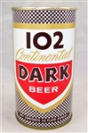 102 Continental Dark Tab Top Beer Can....Minty