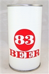 83 Tab Top Beer Can