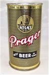 "Atlas Prager IRTP Flat Top Beer Can ""Best Beer In Town"""