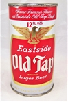 Eastside Old Tap Lager Flat Top Beer Can