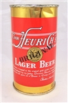 "Chr. Heurichs Lager ""Display Empty"" Flat Top Beer can"