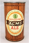 Acme Englishtown Ale Flat Top IRTP Beer can