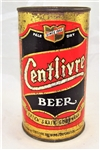 Centlivre Opening Instruction Flat Top Beer Can.