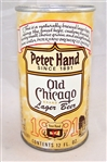 Peter Hand Old Chicago Lager Test Can Tab Top Rare!!