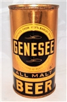 Genesee All Malt Opening Instruction Beer Can Tough Variation